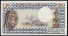 Gabun / Gabon P.03b 1000 Francs (1978) (1)