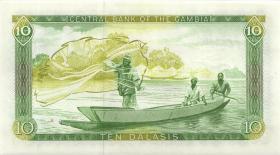 Gambia P.10b 10 Dalasis (1987-90) (1)