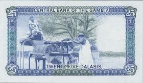 Gambia P.11a 25 Dalasis (1987-90) (1)
