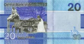Gambia P.39 20 Dalasis 2019 (1)