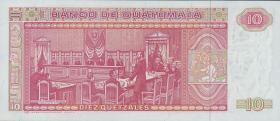 Guatemala P.068 10 Quetzales 1987 (1)