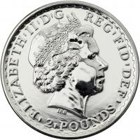 Großbritannien Silber-Unze 2014 Britannia