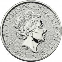 Großbritannien Silber-Unze 2019 Britannia