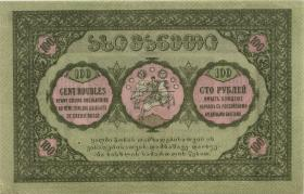 Georgien / Georgia P.12 100 Rubel 1919 (1/1-)