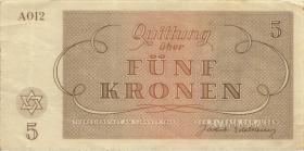 Get-10 Getto Theresienstadt 5 Kronen 1943 (3)
