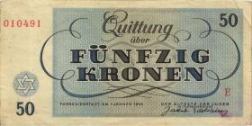 Get-13 Getto Theresienstadt 50 Kronen 1943 (3)