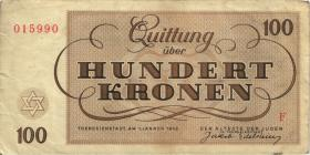 Get-14 Getto Theresienstadt 100 Kronen 1943 (3)