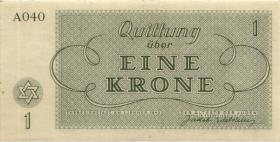 Get-08 Getto Theresienstadt 1 Krone 1943 (1)