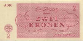 Get-09 Getto Theresienstadt 2 Kronen 1943 (1)