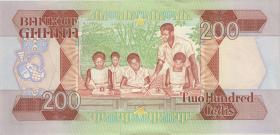 Ghana P.27b 200 Cedis 1990 (1-1-)