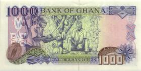 Ghana P.32d 1000 Cedis 1999 (1)