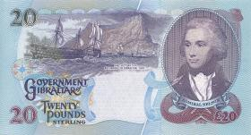 Gibraltar P.27 20 Pounds 1995 (1)