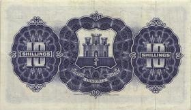 Gibraltar P.17 10 Shillings 1958 (3)