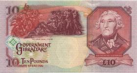 Gibraltar P.32 10 Pounds 2006 (1)