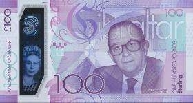 Gibraltar P.neu 100 Pounds 2015 (1)