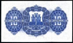 Gibraltar P.14c 10 Shillings 1958 (1)