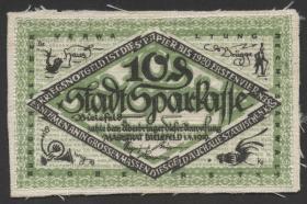 Bielefeld GP.103 10 Pfennig 1919-1920 Leinen (1-)