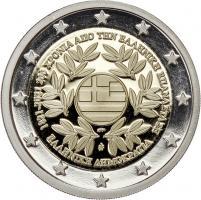 Griechenland 2 Euro 2021 200 Jahre Revolution PP