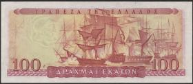 Griechenland / Greece P.192b 100 Drachmen 1955 (1)