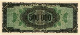 Griechenland / Greece P.126a 500.000 Drachmen 1944 (1)