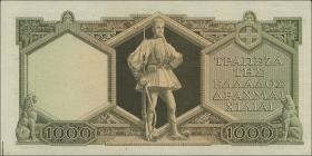 Griechenland / Greece P.180b 1000 Drachmen 1947 (1)