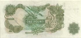 Großbritannien / Great Britain P.374g 1 Pound (1970-77) (1-)