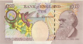 Großbritannien / Great Britain P.389b 10 Pounds 2000 (2000-2003) (1)