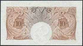 Großbritannien / Great Britain P.368c 10 Shillings (1955-60) (1)