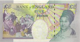 Großbritannien / Great Britain P.391d 5 Pounds 2002 (2012) (1)
