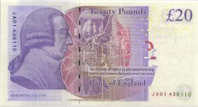Großbritannien / Great Britain P.392b 20 Pounds  (2012) (1)