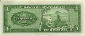 Guatemala P.052d 1 Quetzal 1967 (2)