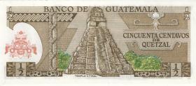 Guatemala P.058a 1/2 Quetzal 1973 (1)