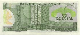 Guatemala P.059c 1 Quetzal 1981 (1)