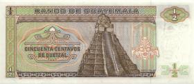 Guatemala P.065 1/2 Quetzal 1986 (1)
