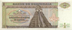 Guatemala P.065 1/2 Quetzal 1987 (1)