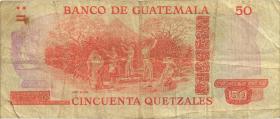Guatemala P.063b 50 Quetzales 1981 (3)