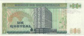 Guatemala P.066 1 Quetzal 1986 (1)