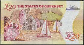 Guernsey P.58a 20 Pounds (1996) (1) low number