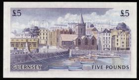 Guernsey P.46c 5 Pounds (1969-75) (1/1-)