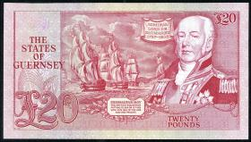 Guernsey P.51a 20 Pounds (1980-89) A000183 (1)
