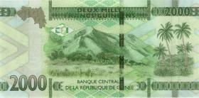 Guinea P.neu 2000 Francs 2018 (1)