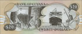 Guyana P.Neu 20 Dollars (2016) (1)