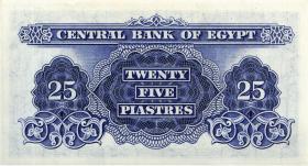 Ägypten / Egypt P.35b 25 Piaster 1966 (1)
