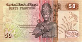 Ägypten / Egypt P.58c 50 Piaster 28.11.(19)90 (1)