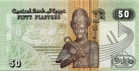 Ägypten / Egypt P.62f 50 Piaster 2002 (1)