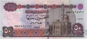 Ägypten / Egypt P.66k 50 Pfund 2013 (1)