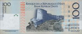 """Haiti P.275g 100 Gourdes 2016 """"200 Jahre Unabhängigkeit"""" (1)"""