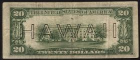 Hawai P.40 20 Dollars 1934 (3+)