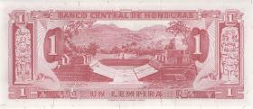 Honduras P.55a 1 Lempira 1968 (1)