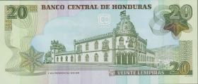 Honduras P.93a 20 Lempiras 2006 (1)